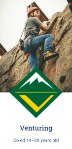 Venturing Recruiting Logo Image